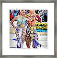 Siam Culture Dance Framed Print