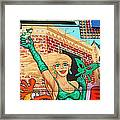 Carnival Girl Palm Springs Framed Print