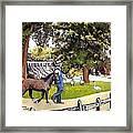 Silver Lake Mill-shenandoah Valley Framed Print