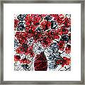 Simfoni Of Love Framed Print