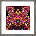 Simulated Beats 4 Framed Print