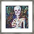 Skeleton With One Arm Framed Print