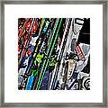 Skis At Mccauley Mountain II Framed Print
