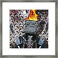 Slaves Of Technology Framed Print by Larry Butterworth