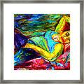 Sleeping Woman Framed Print