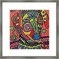 Sloughi Dog Framed Print