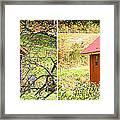 Small Cabin In Stereo Framed Print