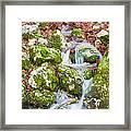 Small Waterfall Framed Print