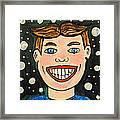 Smiling Boy Framed Print