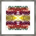 Smoke Art 68 Framed Print