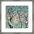 Snow In Forest Framed Print