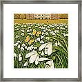Snowdrop Day, Hatfield House Framed Print