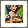 Sofia Loren Framed Print