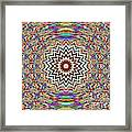 Sonic Vibrations Framed Print by Bobby Hammerstone