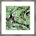 Soothing Tropics Framed Print