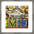 S.o.s. Amen Framed Print