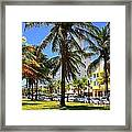 South Beach Miami Beach Framed Print