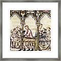 Spain: Medieval Hospital Framed Print
