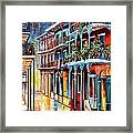 Sparkling French Quarter Framed Print