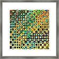 Spex Future Abstract Art Framed Print