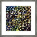 Spex Pseudo Abstract Art Framed Print