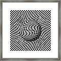 Sphere Abstract Pinch Framed Print