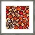 Spheres Of Beads Framed Print