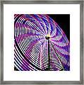 Spinning Disk Framed Print