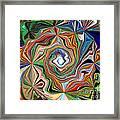 Spiral Splendor Framed Print
