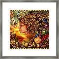 Spirit Of Autumn Framed Print