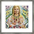 Spirit Portrait Framed Print by Morgan  Mandala Manley
