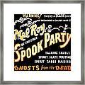 Spook Party 2 Framed Print