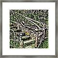 Spooky Stairs Framed Print