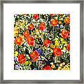 Spring Flowers No. 2 Framed Print
