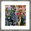 Spring In A Basket Framed Print
