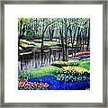 Spring Spendor Tulip Garden Framed Print
