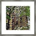 Springtime In Washington Heights 2 Framed Print