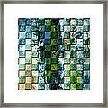 Square Mania - Abstract 01 Framed Print