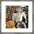 Square Scarecrow Framed Print