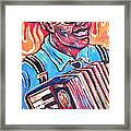 Squeezebox Blues Framed Print