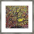 Squiggling In The Wind Framed Print