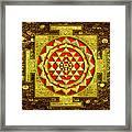 Sri Lakshmi Yantra Framed Print