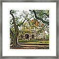 St. Charles Ave. Mansion Framed Print