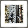 St. Gillis Well Pump Framed Print