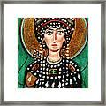 St Patricia Framed Print