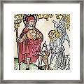 St. Roch (c1350-c1379) Framed Print