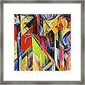 Stables 1913 Framed Print