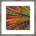 Stacked Colors Framed Print