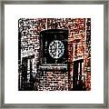 Stained Brick Framed Print