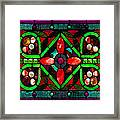 Stained Glass 2 Framed Print